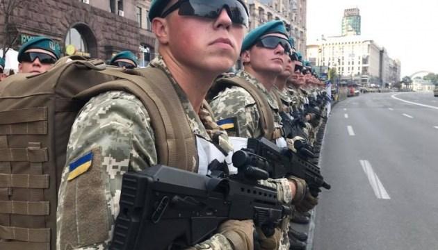 В Киеве продолжается репетиция парада ко Дню Независимости