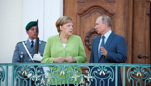 Меркель сподівається, що до навчального року встановлять перемир'я на Донбасі