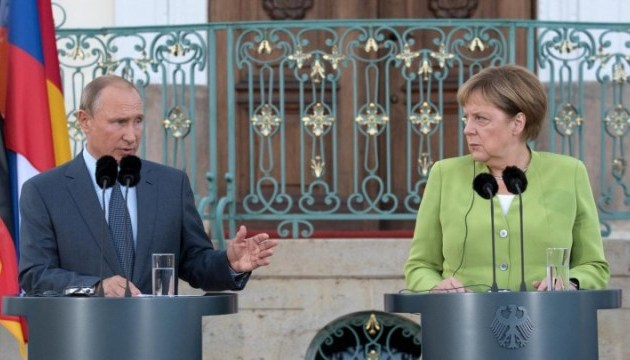 Merkel, Putin in phone conversation discuss situation in Donbas, Syria