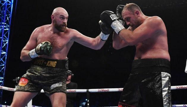 Бокс: Фьюри победил Пьянету и анонсировал бой с Уайлдером