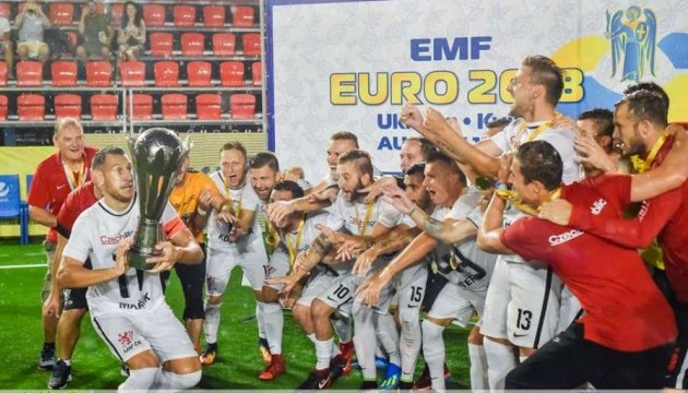 Чехія виграла чемпіонат Європи з міні-футболу у Києві