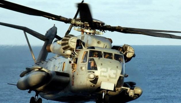 Канада припинила пошуки свого гелікоптера, який впав поблизу Греції
