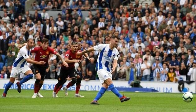 АПЛ: «Манчестер Юнайтед» сенсаційно програв «Брайтону»