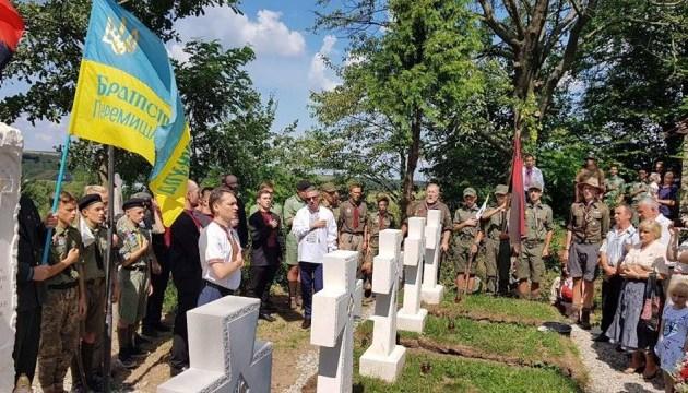 На Львовщине освятили военный мемориал воинам УПА