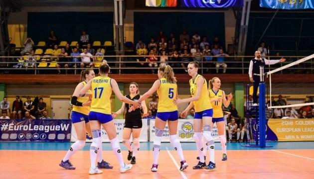 Женская сборная Украины по волейболу обыграла Черногорию в отборе Евро-2019