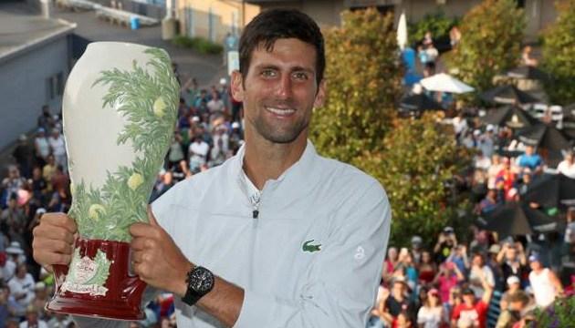 Тенісист Джокович переміг Федерера в Цинциннаті й отримав Золотий Мастерс