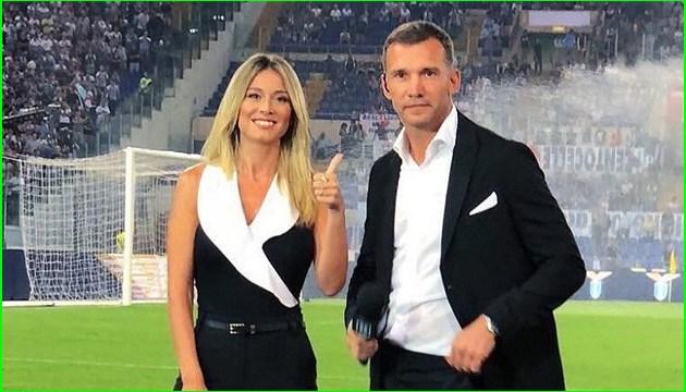 Андрей Шевченко дебютировал на итальянском телевидении в качестве футбольного эксперта