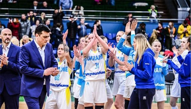 Українські баскетболістки виграли один поєдинок із трьох на турнірі в Латвії