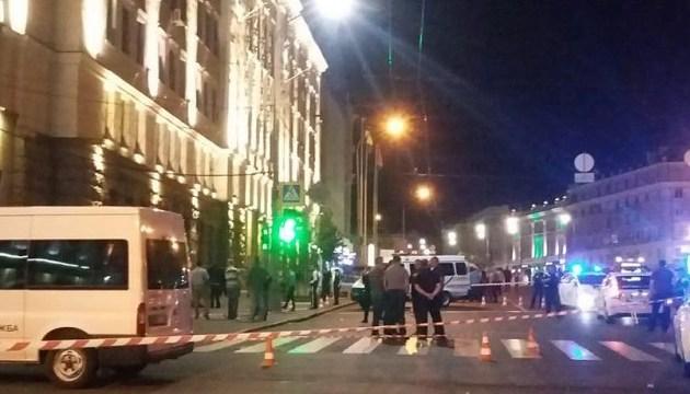 Охоронці харківської мерії чергували без зброї - поліція