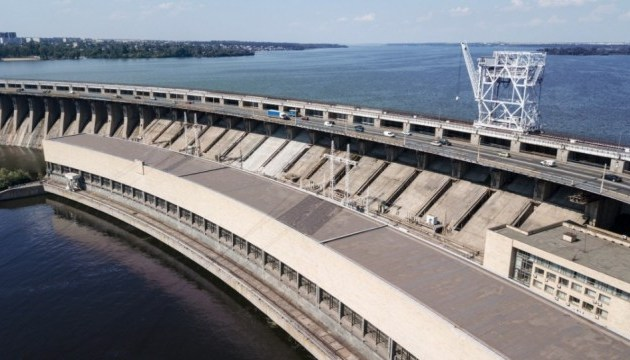 Укргідроенерго розпочинає реконструкцію моста на греблі ДніпроГЕСу