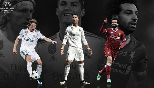 УЄФА обрала трійку претендентів на звання