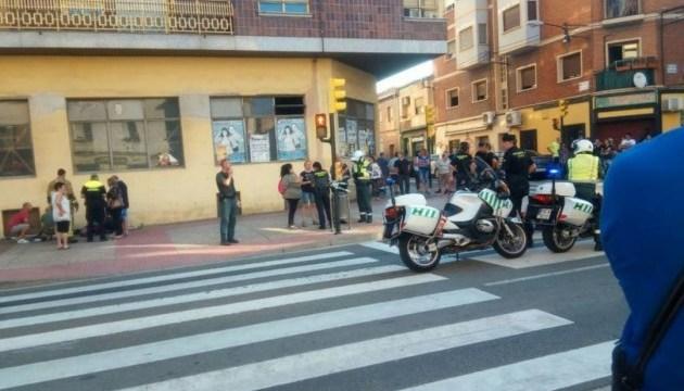 В Іспанії авто в'їхало у пішоходів, є постраждалі