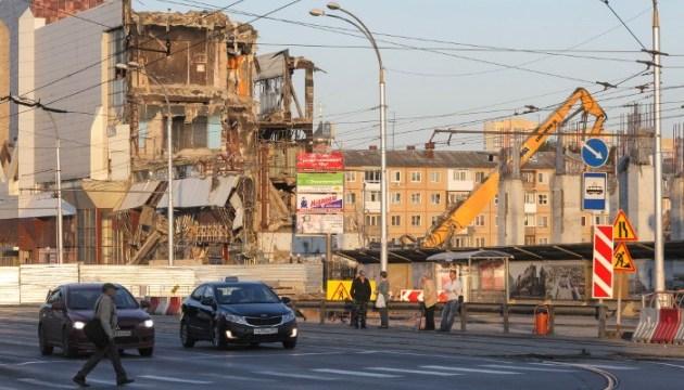 В Кемерове после пожара снесли здание ТЦ «Зимняя вишня»