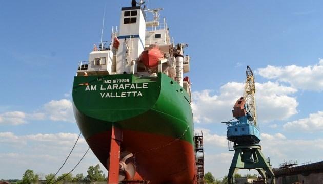 SMG公司在赫尔松造船厂维修荷兰船只