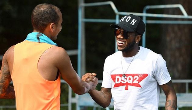 Фред посетил тренировку футболистов