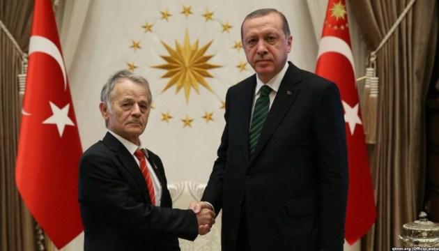 Ердоган попросив у Джемілєва список в'язнів Кремля