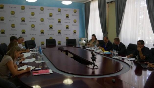 Очільник Донеччини обговорив з делегацією ООН проблеми жителів регіону