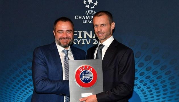 ФФУ підтримала кандидатуру Чеферіна на майбутніх виборах президента УЄФА