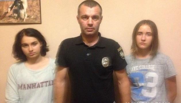 Поліція знайшла двох дівчаток-утікачок