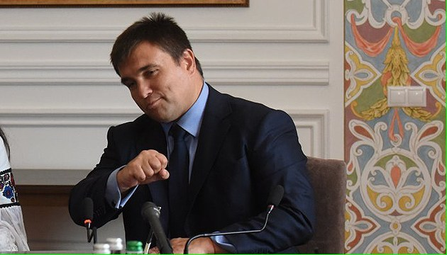 Klimkin: Lithuania may take Avdiivka under its patronage