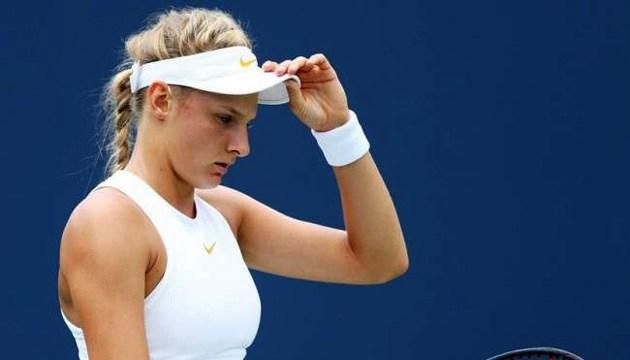 Ястремська не змогла вийти до другого кола US Open