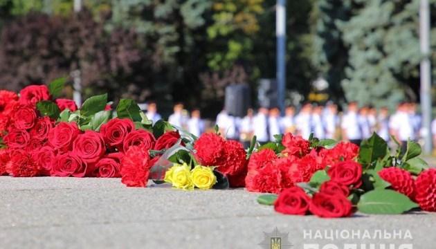 На Київщині вшанували загиблих за роки незалежності правоохоронців