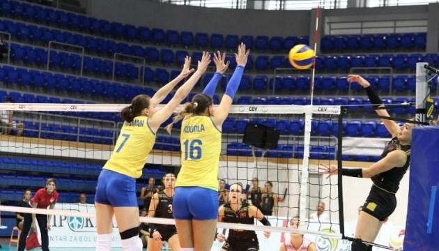 Жіноча збірна України з волейболу поступилася Греції у відборі Євро-2019