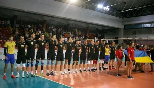 Волейбол: мужская сборная Украины одержала третью победу в отборе Евро-2019