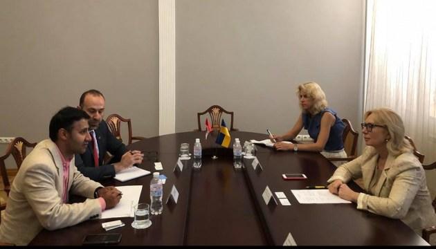 Денисова призвала Канаду давить на РФ для освобождения украинских узников Кремля