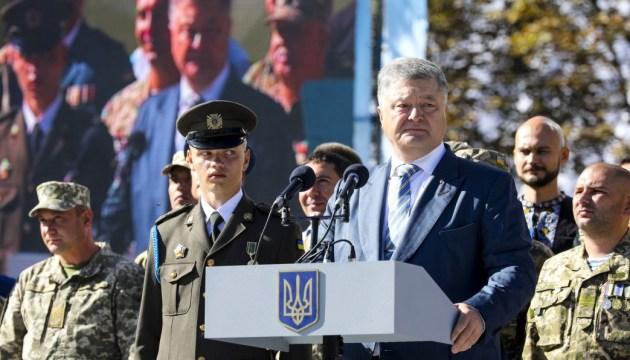 Poroschenko: Ukrainisches Heer wird nicht nur im Donbass verstärkt