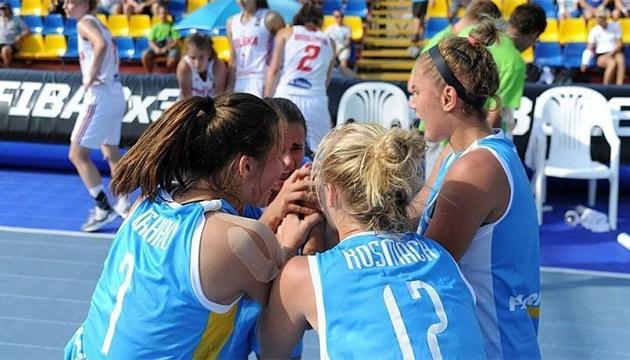 Баскетбол 3х3: сборные Украины U-18 узнали соперников на чемпионате Европы