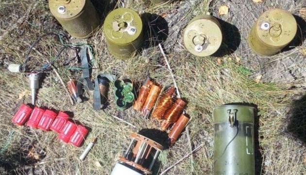 В районе ООС обнаружили запрещенные мины