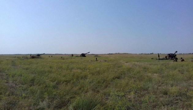 Резервисты ВМС провели боевые артиллерийские стрельбы