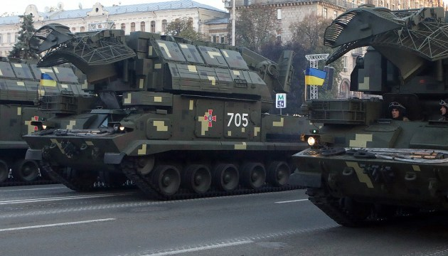 Укроборонпром перешел от ремонта к выпуску новейшей военной техники - Порошенко