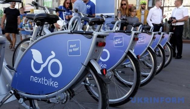 За два тижні роботи велопрокату в Києві вкрали 4 велосипеди