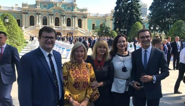 Геращенко розповіла про закритий прийом у Президента
