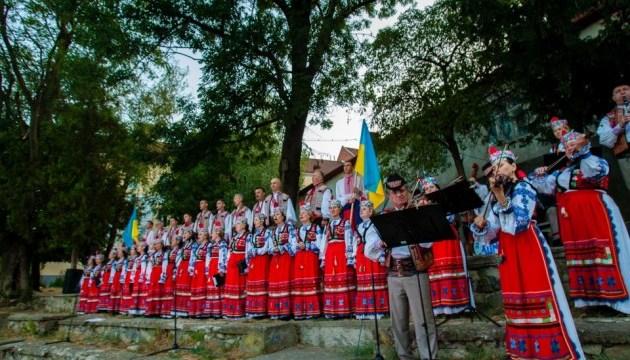 Закарпатье встретило рассвет Дня Независимости молитвой за Украину