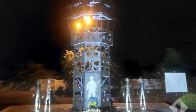 """На Одесчине открыли памятник """"киборгам"""""""