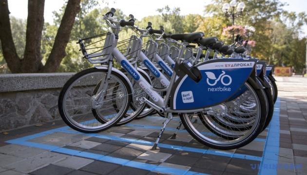 У столиці побільшає пунктів велопрокату