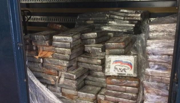 В бельгийском порту задержали 2 тонны кокаина с логотипом «Единой России»