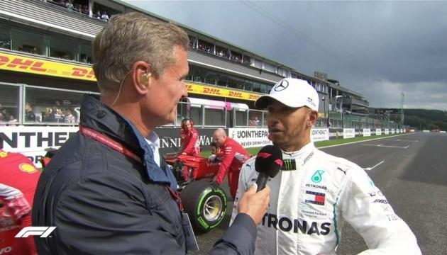 Формула-1: Гемілтон виграв кваліфікацію Гран-прі Бельгії