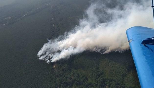 У Білорусі горять заповідні Ольманські болота