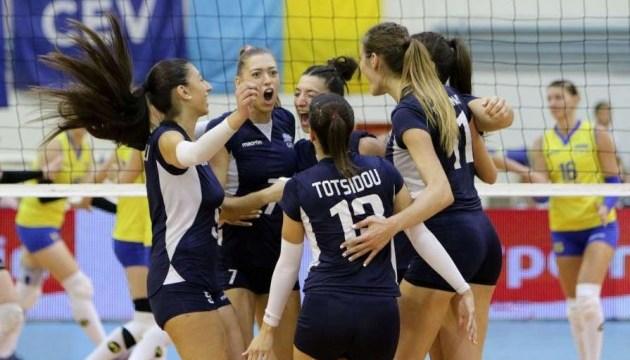 Волейбол: жіноча збірна України вдруге програла Греції у відборі Євро-2019