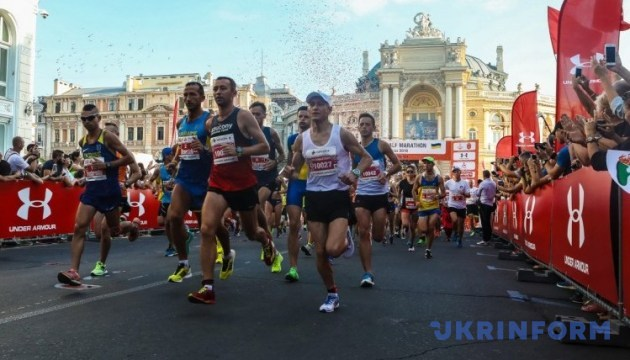 В Одессе пробежали Odesa Half Marathon