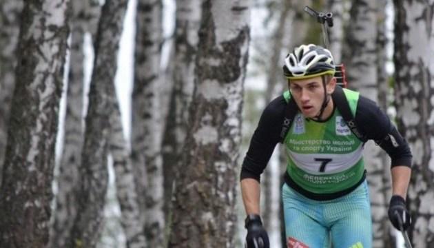 Богдан Цимбал став срібним призером першості світу з літнього біатлону