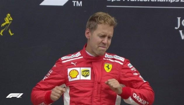 Формула-1: Феттель переміг на Гран-прі Бельгії