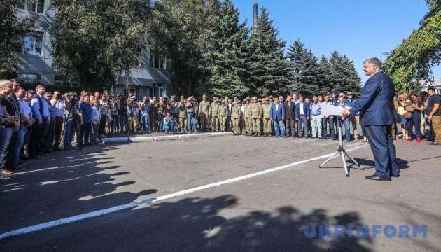 Порошенко підписав закон, який захищає права українських військових