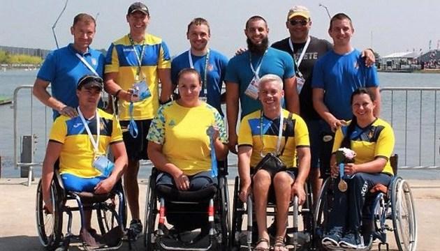 Українські веслувальники-паралімпійці - другі у командному заліку чемпіонату світу