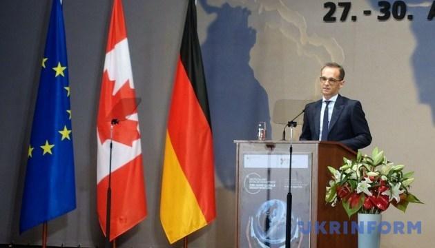 Маас сказав, які ідеї Берлін має намір просувати у Радбезі ООН