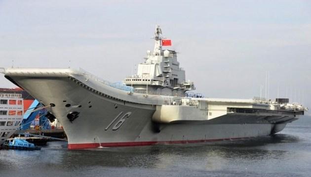 У Китаї тривають випробування авіаносця з «українським корінням»